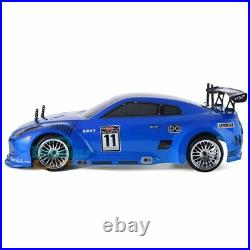 1 10 Scale Racing Road Blue RC Car Two Speeds 4x4 Nitro Gas Power High Speed Car