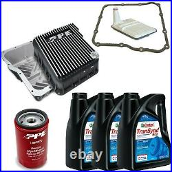 ACDelco Allison 1000 Transmission Kit & PPE Brushed Deep Pan For 01-19 GM Trucks