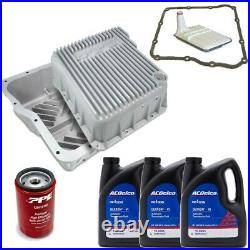 ACDelco Allison 1000 Transmission Service Kit & PPE Deep Pan For 01-19 GM Trucks
