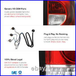 High-Power CREE LED Reverse! 03-07 Silverado 1500 2500 3500 Red Tail Lamps L+R