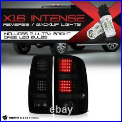 High-Power CREE Reverse NEW 2007-2013 GMC Sierra High Power LED Taillights L+R