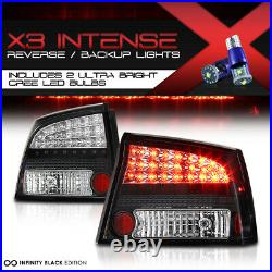 High-Power SMD Backup 06-08 Dodge Charger ULTRA BRIGHT LED Tail Lights LH RH