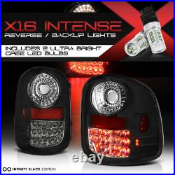 High-Power SMD Backup 97-03 Ford F-150 FLARE-SIDE LED Tail Lights Rear LH RH