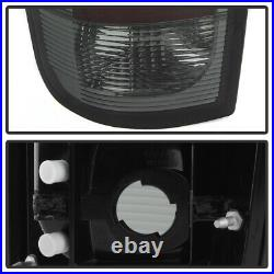 High-Power SMD Reverse Ford 97-02 Expedition G2 LED SMOKE Tail Lights LH RH