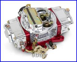 Holley Red Anodized 750 CFM Ultra Double Pumper Carburetor With Electric Choke