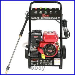 Jet Mobile Petrol High Pressure Washer Engine Cleaner 8 HP 3000psi Power Wheeled