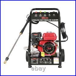 Jet Mobile Petrol High Pressure Washer Engine Cleaner 8 HP 3950psi Power Wheeled