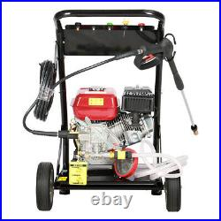 Jet Petrol Washer High Pressure Engine Cleaner 8 HP 3950PSI Portable Powerful