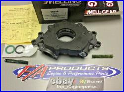 Melling 10355 2003-2015 Chevy LS Engine High Pressure Performance Oil Pump