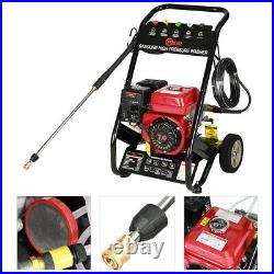 Mobile Petro High Power Pressure Wash Jet Washing Engine Clean Washer 7hp3950psi