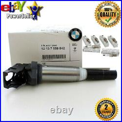 New Genuine Bmw N53 Engine Spark Plug, High Power And 6x Ignition Coil Set