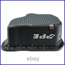 PPE Black Deep Oil Pan & Filter With ACDelco RTV Sealant For 11-16 6.6L Duramax
