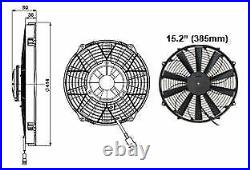 Revotec High Power Comex Engine Cooling Fan 15.2 (385mm) Pusher/Blower